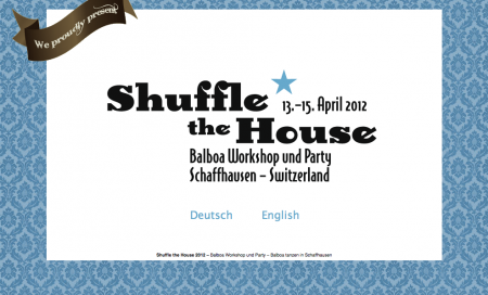 Shuffle The House Balboa Workshop 2012